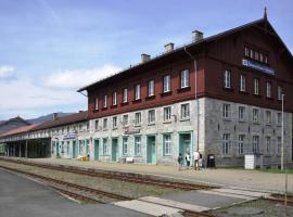 Pension na hranici, Železná Ruda (Bayerisch Eisenstein yakınında)