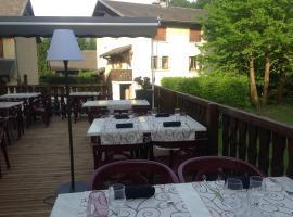 La Table d'Aure, Chamousset (рядом с городом Сен-Пьер-д'Альбиньи)