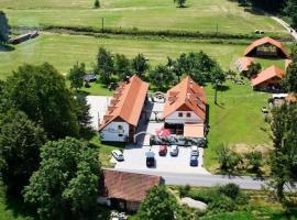 Penzion Kaminek, Nové Hrady (Jiříkovo Údolí yakınında)