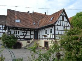 Ferienidyll Cleebourg, Cleebourg (рядом с городом Drachenbronn)