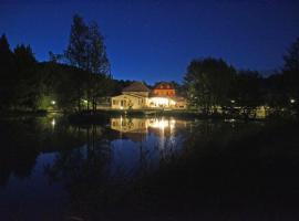 Le Domaine de L'étang de Sandanet, Issac