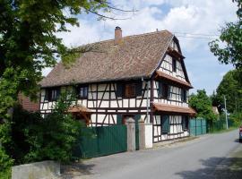 Gîte Nicole, Heidolsheim (рядом с городом Marckolsheim)