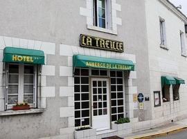 Auberge de la Treille, Saint-Martin-le-Beau (рядом с городом Ате-сюр-Шер)
