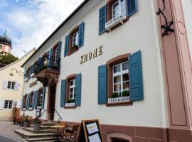 Krone - das Gasthaus, Kirchhofen (Ehrenstetten yakınında)