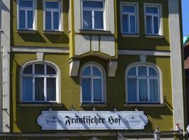 Hotel Fränkischer Hof, Kitzingen (Mainstockheim yakınında)