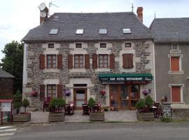 Le Relais des Sites, Faverolles (рядом с городом Loubaresse)