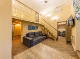 Duplex Studio in Historical Kyiv