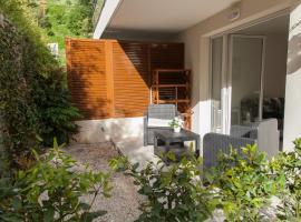 quiet studio with terrace, Ницца (рядом с городом Saint-André)