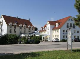 Flair Hotel Zum Schwarzen Reiter, Horgau (Zusmarshausen yakınında)