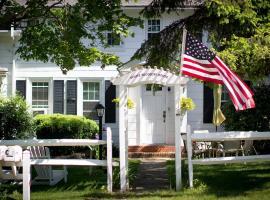 Historic White Blossom House, Southold (in de buurt van Mattituck)