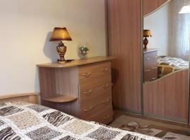 Apartment on Molodezhnaya 39, Navapolatsk (Gamzelëvo yakınında)