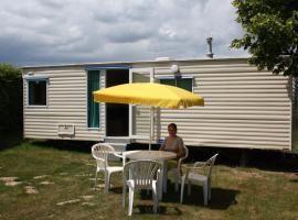 Camping La Coccinelle, Blot-l'Église (рядом с городом Châteauneuf-les-Bains)
