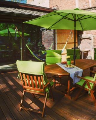 Brīvdienu apartamenti ar terasi