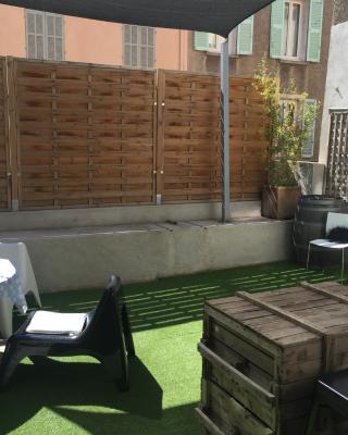 Le Mourillon Appartement -Terrasse
