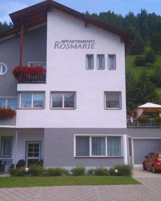 Appartements Rosmarie