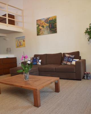 Studio loft avec terrasse centre historique