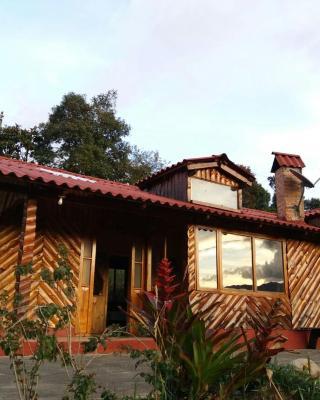 Cabaña de madera LA KOCHA