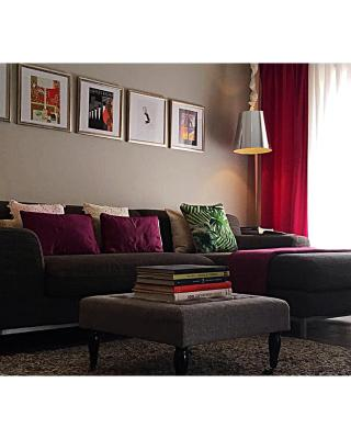 Grey Eclectic Apartment