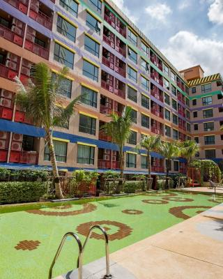Colorful Apartment near Centralbangna