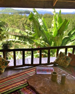 Jungle bar. Restaurant & Hut