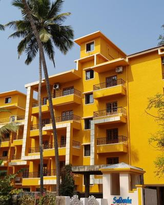 2 bedroom apartment Candolim