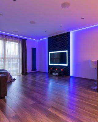 Center of Łódź 5* star apartment with secured car park