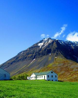 Guesthouse Kirkjubol in Bjarnardalur