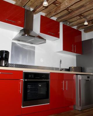 Grand Duplex Style Vieux Bois
