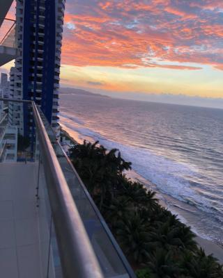 Resort. Suite frente al mar