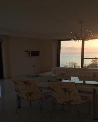 Luxury Apt in Konak Seaside Homes with a Sea Front View and a Private Beach