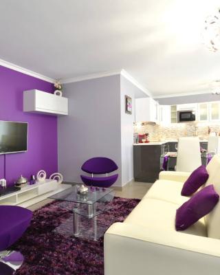 Luxury Paris purple