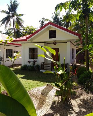 Buko White House with garden and near the bech