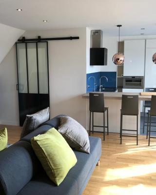 Appartement duplex, Tours centre