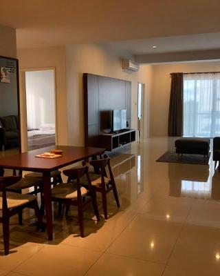The Sea View Apartment Miri Waterfront