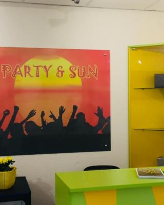 Hostel Party and Sun