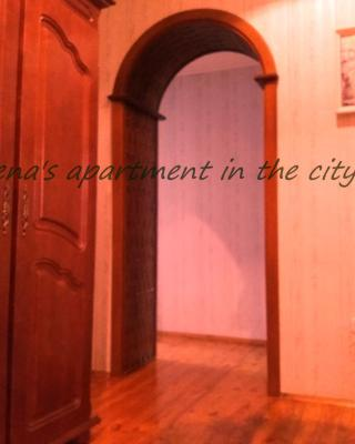 Elena's apartment in the city center