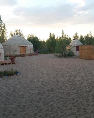 Yurt camp Tosor