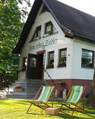 """Landhotel """"Zum ersten Siedler"""""""