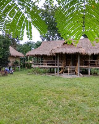 Ayang Okum River Bank Bamboo Cottage