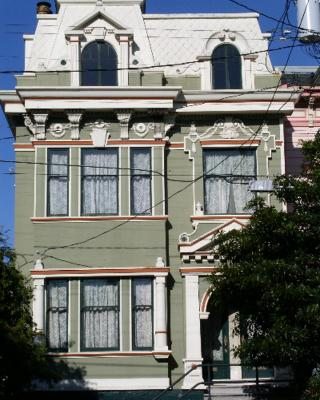 Apartment Classic 2 BR Victorian, Lower Haight, San