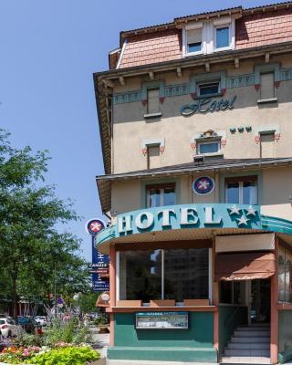 Hotel The Originals Grenoble Gambetta