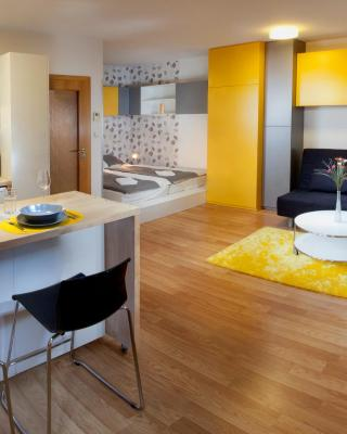 Orange & Yellow Apartments