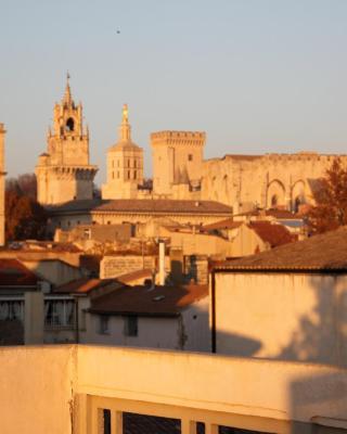 A la terrasse d'Avignon