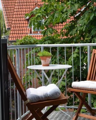 Ferienwohnung im Stadthaus - zwei Schlafzimmer