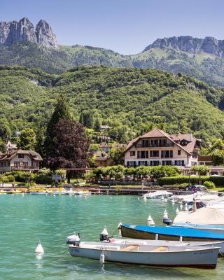 HOTEL COTTAGE BISE TALLOIRES LAC D'ANNECY