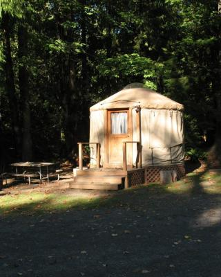 Mount Hood Village Yurt 1