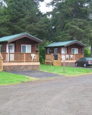 Seaside Camping Resort Deluxe Studio Cabin 1