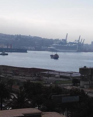 Bella vista de la bahía