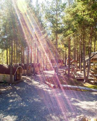 Camping Pod Heaven