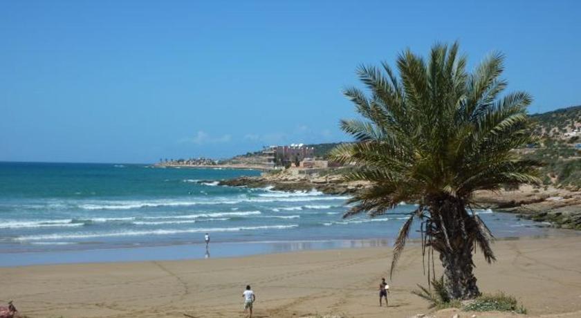 Maison au coeur de la vie marocaine